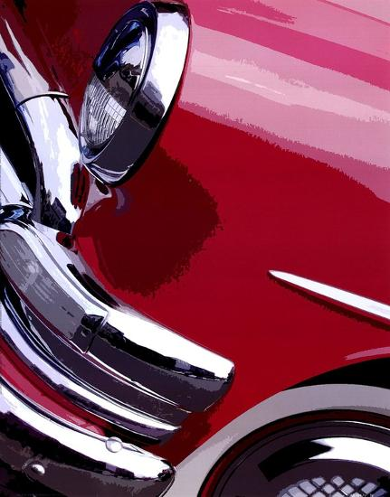 Tail Fins And Two Tones I-Unknown-Art Print