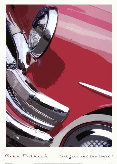 Tail Fins And Two Tones I--Art Print