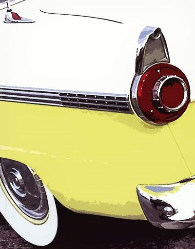 Tail Fins And Two Tones VI--Art Print