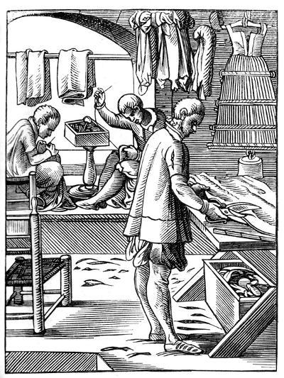 Tailor, 16th Century-Jost Amman-Giclee Print