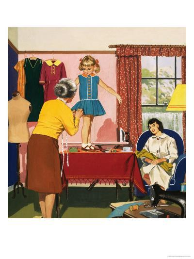 Tailor and Dress Maker--Giclee Print