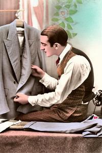 Tailor Examining Work