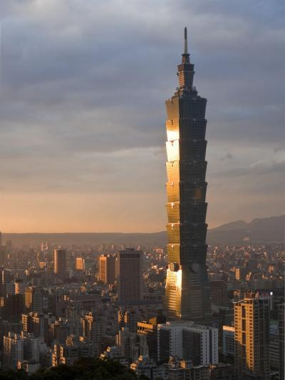 Taipei 101, Taipei, Taiwan-Michele Falzone-Photographic Print