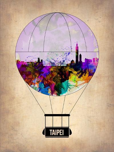 Taipei Air Balloon-NaxArt-Art Print
