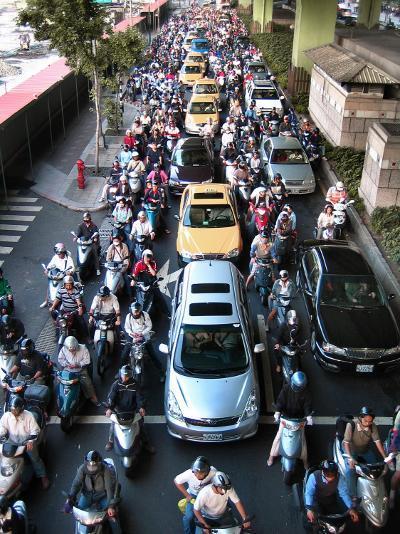 Taipei Traffic--Photographic Print