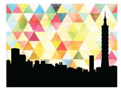 Taipei Triangle--Art Print