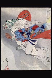 Ibaraki of Rashomon by Taiso Yoshitoshi