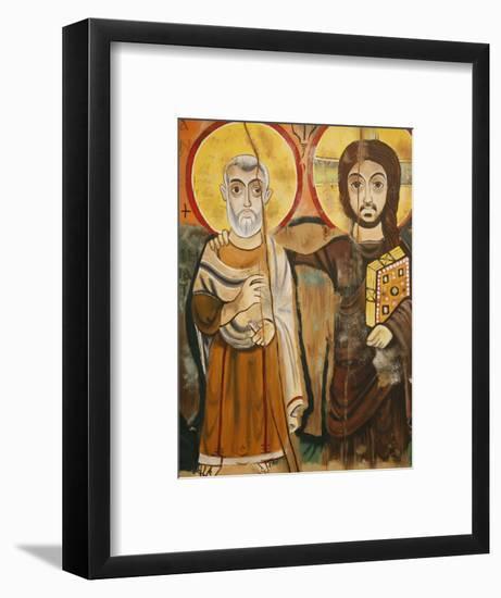 Taize Icon, Geneva, Switzerland, Europe-Godong-Framed Photographic Print