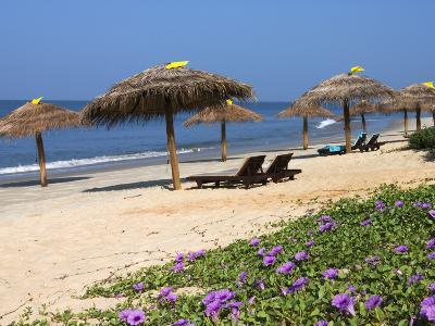 Taj Exotica Hotel Beach, Benaulim, Goa, India, Asia-Stuart Black-Photographic Print