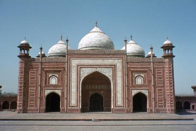 Taj Mahal Mosque, Agra, India-Vivienne Sharp-Photographic Print