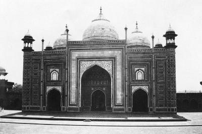 Taj Mahal Mosque (Or Masji), Agra, India, 1916-1917--Giclee Print
