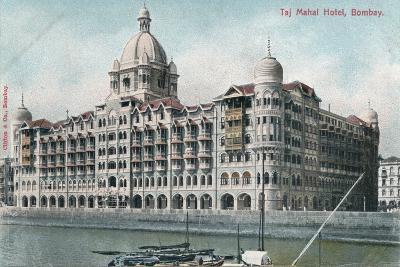 Taj Mahal Palace Hotel, Bombay, India, 20th Century--Giclee Print
