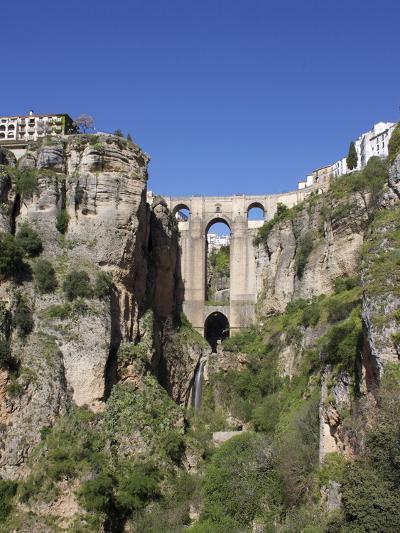 Tajo Gorge and New Bridge, Ronda, Malaga Province, Andalucia, Spain, Europe-Jeremy Lightfoot-Photographic Print