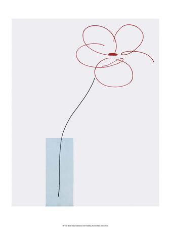 One Daisy Flower in vase