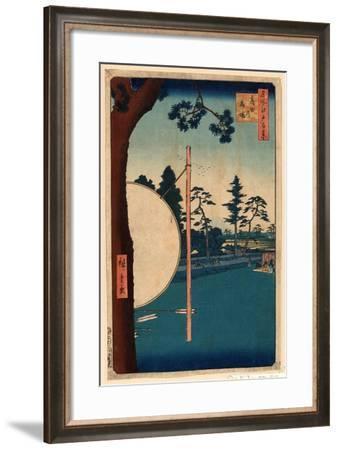 Takata No Baba-Utagawa Hiroshige-Framed Giclee Print