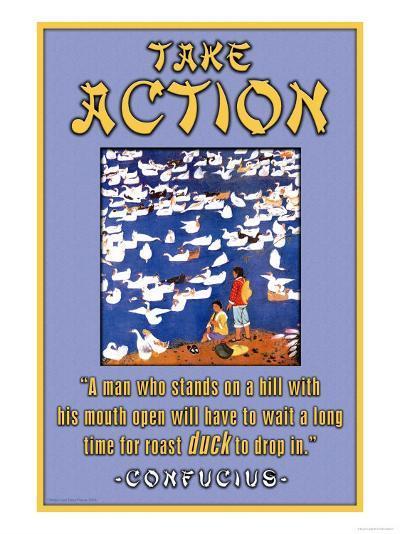 Take Action--Art Print