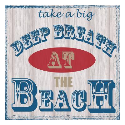 Take Deep Breath-Taylor Greene-Art Print