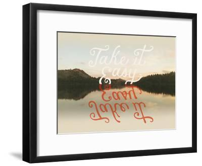 Take it Easy-Danielle Kroll-Framed Giclee Print