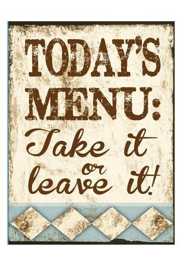Take It or Leave It-Melody Hogan-Art Print