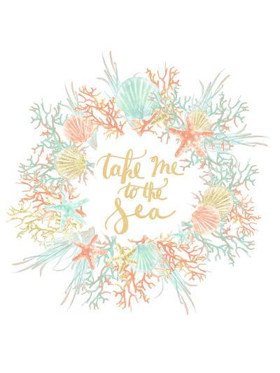 Take Me To The Sea Coastal Print-Jetty Printables-Art Print