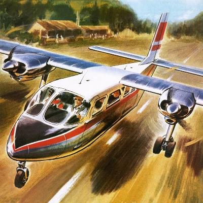 Take-Off for Success: the Britten-Norman Islander.-Wilf Hardy-Giclee Print
