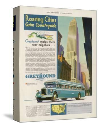 Take the Greyhound Lines to New York