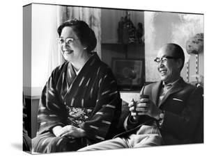 Soichiro Honda and Wife Sachi, Tokyo, Japan, 1967 by Takeyoshi Tanuma