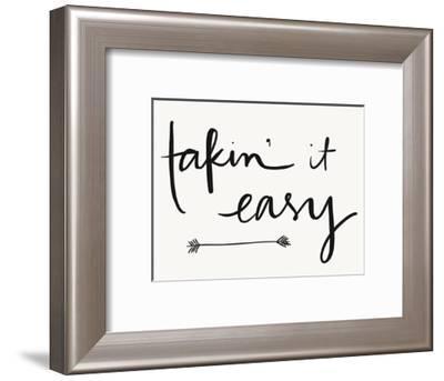 Takin It Easy-Katie Doucette-Framed Art Print