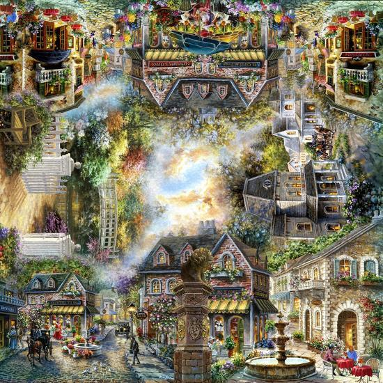 Taking it to the Streets-Nicky Boehme-Giclee Print