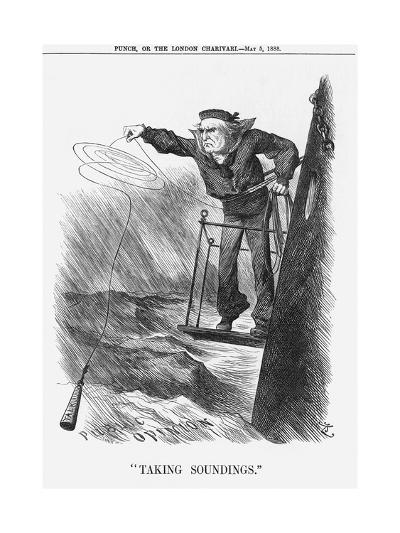 Taking Soundings, 1888-Joseph Swain-Giclee Print