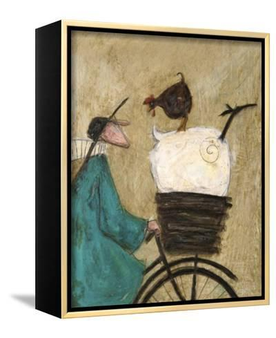 Taking the Girls Home-Sam Toft-Framed Canvas Print