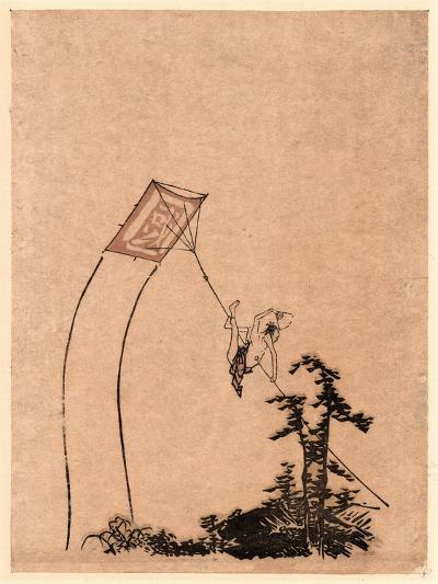 Tako Ni Noboru Otoko--Giclee Print