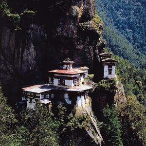 Taktsang Palphug Monastery (Dzong), or Tiger's Nest, Bhutan, 17th Century
