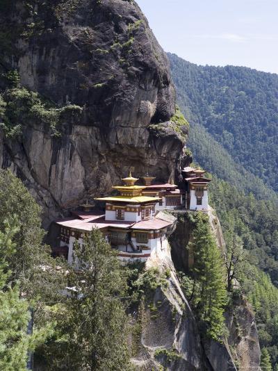 Taktshang Goemba (Tiger's Nest) Monastery, Paro, Bhutan, Asia-Angelo Cavalli-Photographic Print