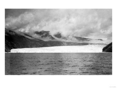 Taku Glacier near Juneau, Alaska Photograph - Juneau, AK-Lantern Press-Art Print