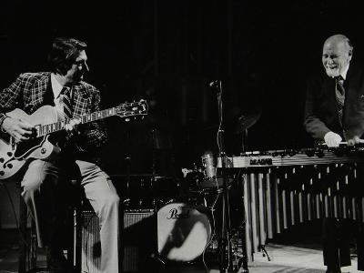Tal Farlow (Guitar) and Red Norvo (Vibraphone), Performing at Wallingford, Oxfordshire, 1981-Denis Williams-Photographic Print