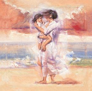 Affectionate Embrace by Talantbek Chekirov