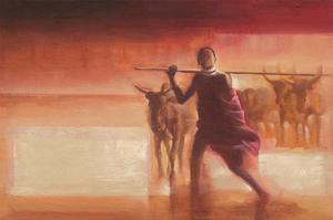 Young Massai by Talantbek Chekirov