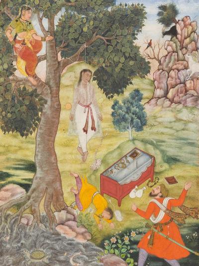 Tale of the Cunning Siddhikari, c.1590-Mughal School-Giclee Print
