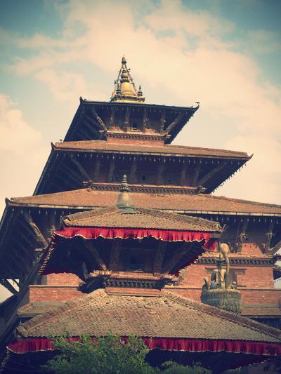 Taleju Temple, Durbar Square, Patan (UNESCO World Heritage Site), Kathmandu, Nepal-Ian Trower-Photographic Print