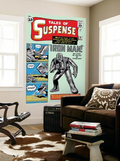 Tales of Suspense No.39 Cover: Iron Man-Jack Kirby-Wall Mural