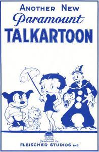 Talkartoon, 1931