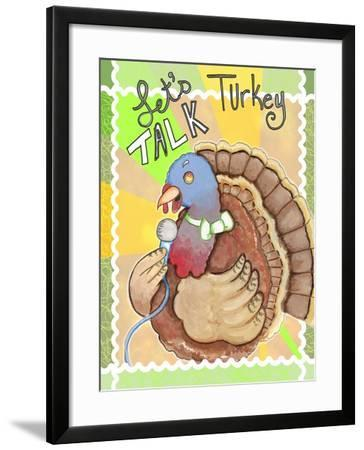 Talking Turkey-Valarie Wade-Framed Giclee Print