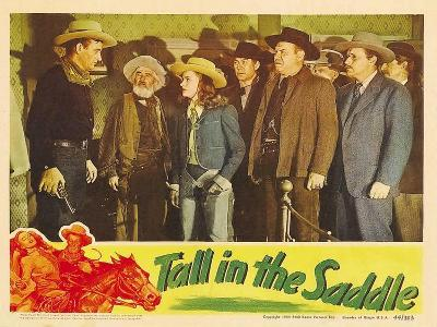 Tall in the Saddle, 1944--Art Print