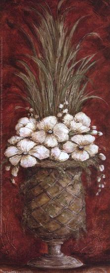 Tall Red Floral II-Kate McRostie-Art Print
