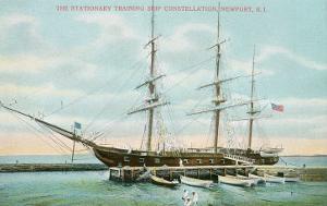 Tall Ship Constellation, Newport, Rhode Island