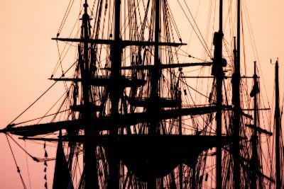 Tall Ships at Sunset 1-Alan Hausenflock-Photographic Print