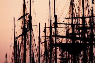 Tall Ships at Sunset 2-Alan Hausenflock-Photographic Print