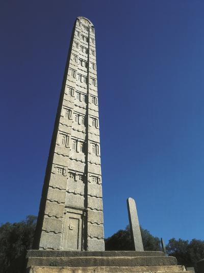 Tallest Stela of Axum--Photo
