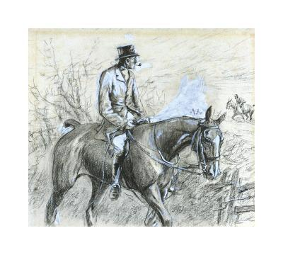 Tally-Ho Back-Snaffles-Premium Giclee Print